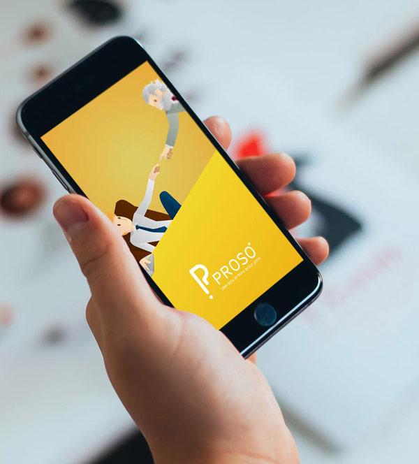 Proso - ios+android app (design + dev)